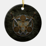 Celtic Shield And Swords Ornament