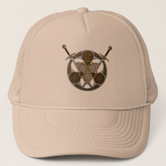 Celtic Shield and Swords Trucker Hat