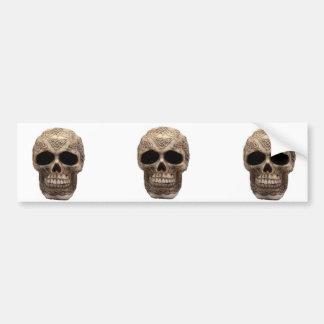Celtic Skull Bumper Sticker