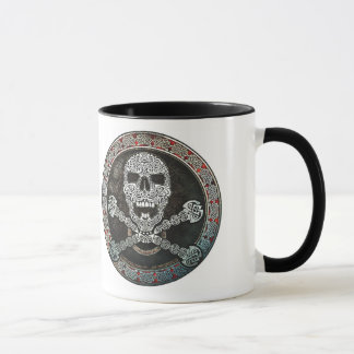 Celtic Skull & Crossbones Mug