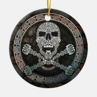 Celtic Skull & Crossbones Pendant/Ornament Christmas Ornament