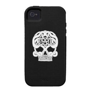 Celtic Skull Single iPhone 4 Covers