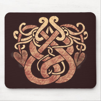 Celtic Snakes Mouse Mat