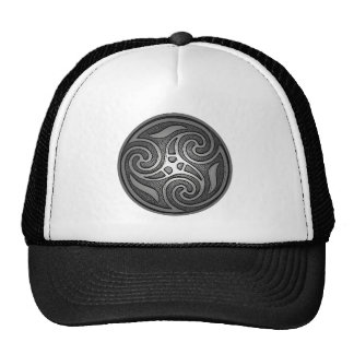 Celtic Spiral Cap
