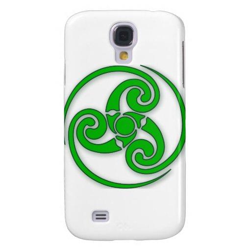 Celtic Spiral Samsung Galaxy S4 Cases