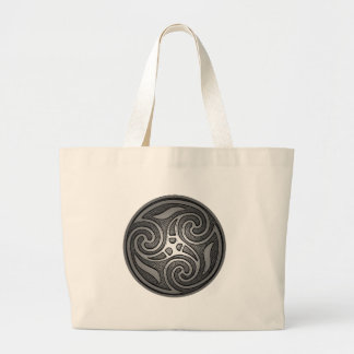 Celtic Spiral Large Tote Bag