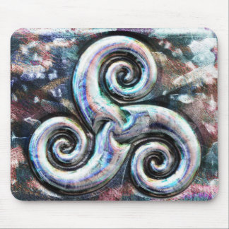 Celtic Spiral Mouse Mat