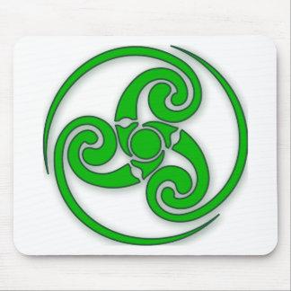 Celtic Spiral Mouse Pad