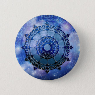 Celtic Spirit Mandala 6 Cm Round Badge