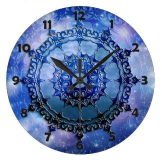 Celtic Spirit Mandala Large Clock