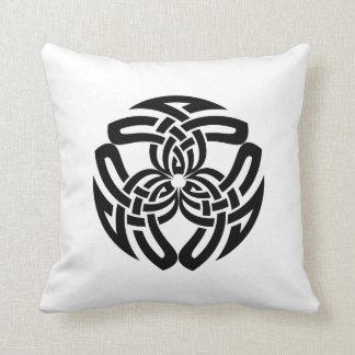Celtic Square Knot, Triple Pattern Cushion