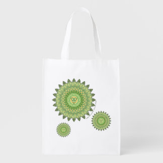 Celtic St Patty s Day Reusable Grocery Bag Grocery Bags