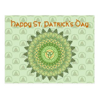 Celtic St. Patty's Day Postcard