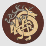 Celtic Stag Sticker