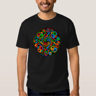 Celtic Stained Glass Spiral Shirts