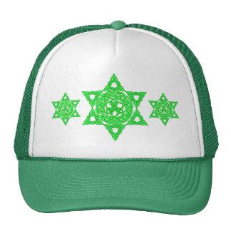 Celtic Star of David Hats