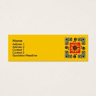 Celtic Sun Mandala Profile Card