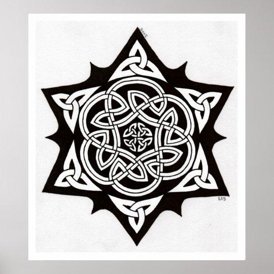 Celtic Sun print