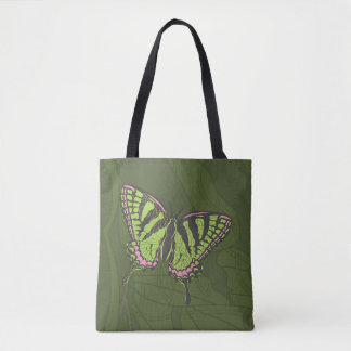 Celtic Swallowtail All-Over-Print Bag