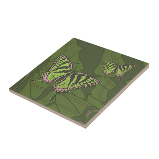 Celtic Swallowtail Tile
