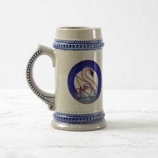 Celtic Swan (2-Sided) Beer Steins