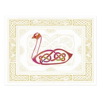 Celtic Swan Postcard