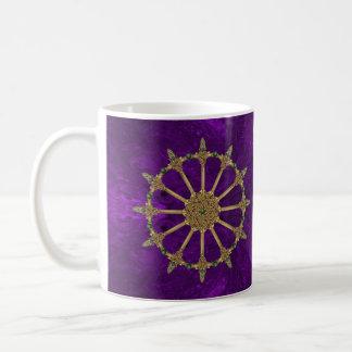 Celtic Swords Deep Purple Coffee Mug