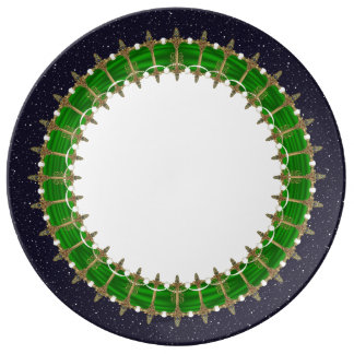Celtic Swords Night Sky Plate