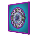 Celtic Symbolic Mandala Gallery Wrap Canvas