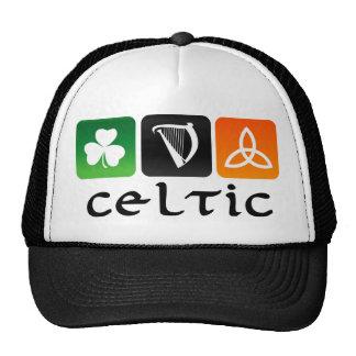 Celtic Symbols Cap