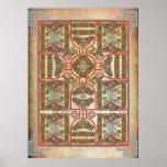 Celtic Symbols Carpet