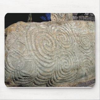 Celtic Symbols from Newgrange Ireland Mouse Mat
