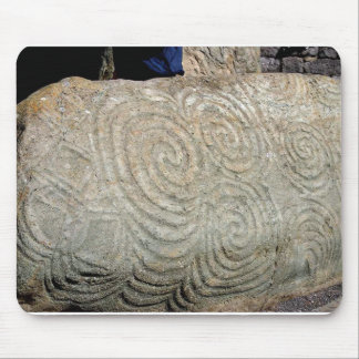 Celtic Symbols from Newgrange Ireland Mouse Pad