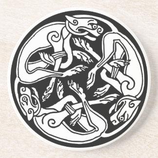 Celtic Tattoo Beverage Coasters