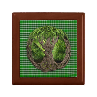 Celtic Tree And Ancient Clan MacDonald Isles Gift Box