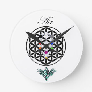 Celtic tree of life - Air Round Clock