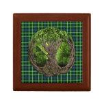 Celtic Tree Of Life And Clan Graham Tartan Gift Box