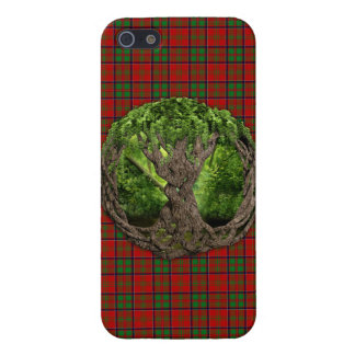 Celtic Tree Of Life And Clan MacDonald Of Glencoe iPhone 5/5S Covers