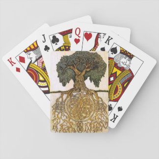 Celtic Tree of Life card deck Poker Deck