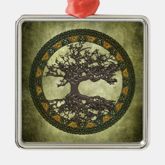 Celtic Tree of Life Christmas Ornament