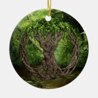 Celtic Tree Of Life Christmas Ornament