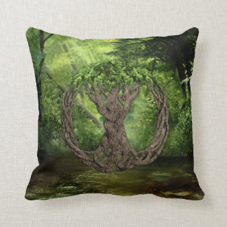 Celtic Tree Of Life Cushion