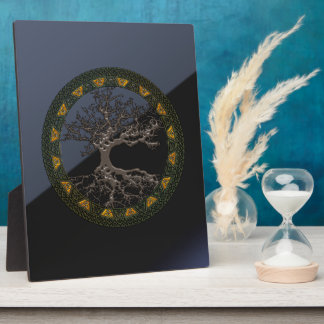 Celtic Tree of Life Display Plaques