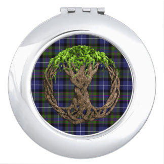Celtic Tree Of Life Highland Pride Of Scotland Mirrors For Makeup