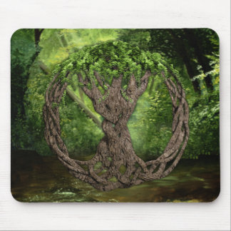 Celtic Tree Of Life Mouse Mat