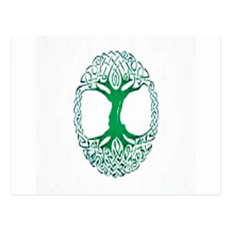 celtic tree of life post cards