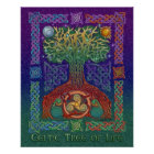 Celtic Tree of Life Poster Print