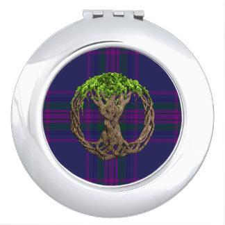 Celtic Tree Of Life Spirit Of Scotland Vanity Mirrors