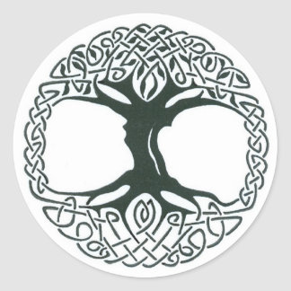 Celtic Tree of Life stickers