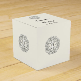 Celtic Tree of Life Wedding Favor Box